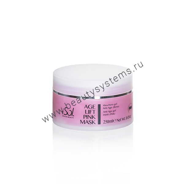 ISO.CHROME.100 AGE LIFT PINK MASK